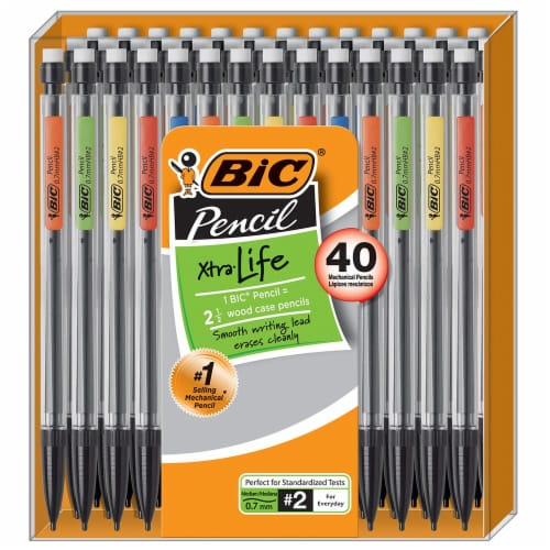 BIC Xtra Life Medium Point #2 Pencils Perspective: front