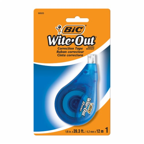 BIC Wite Out Correction Tape Perspective: front