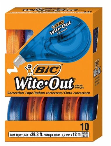 Bic  Wite-Out® EZ Correction Tape Perspective: front