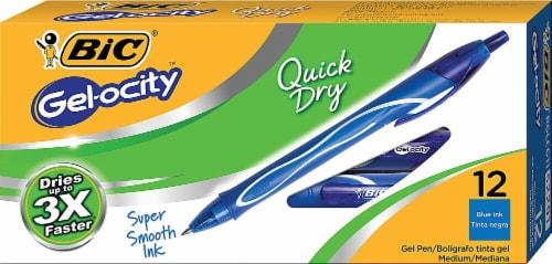 Bic  Gel-ocity™ Quick Dry Gel Pen Blue Perspective: front