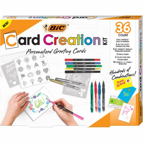BIC Marking Card Kit Perspective: front