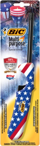 BIC Multi-Purpose Americana Lighter Perspective: front