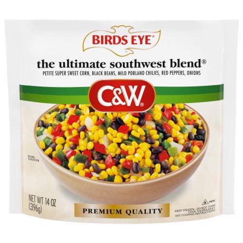 Birds Eye C&W Ultimate Southwest Blend Vegetables Perspective: front