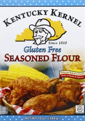 Kentucky Kernel Gluten Free Seasoned Flour Perspective: front