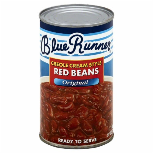Blue Runner Original Creole Cream Style Red Beans Perspective: front