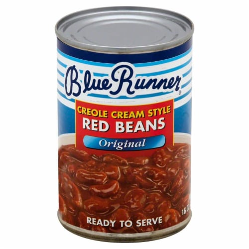 Blue Runner Creole Cream Style Red Beans Perspective: front