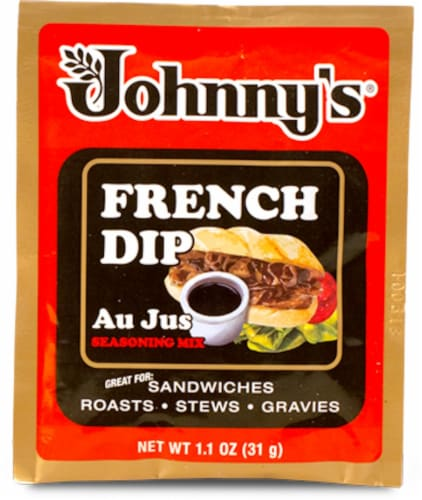 Johnny's French Dip Au Jus Pack Perspective: front