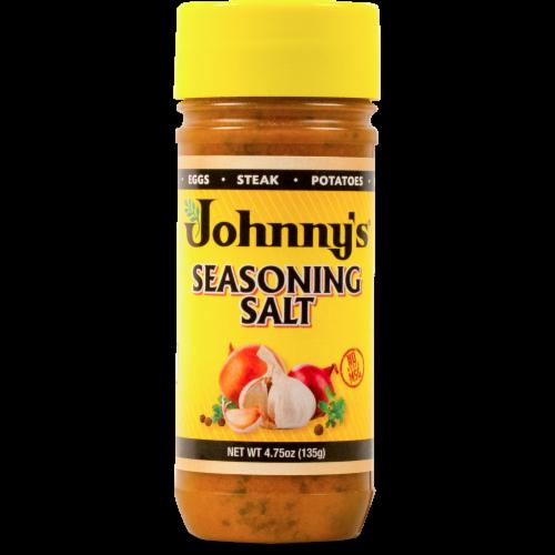Johnny's Seasoning Salt Perspective: front