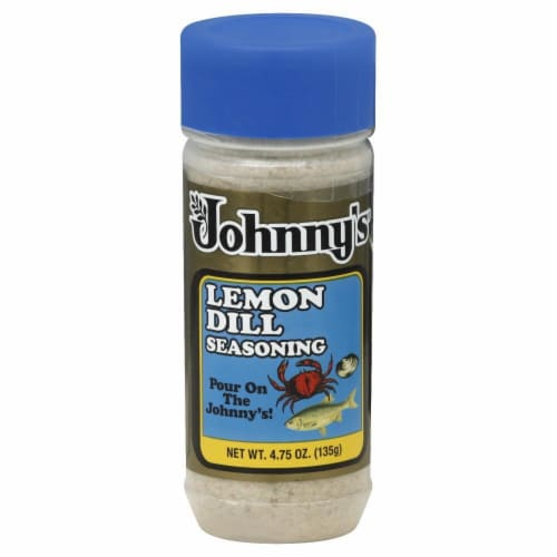 Johnny's Lemon Dill Seafood Seasoning Perspective: front
