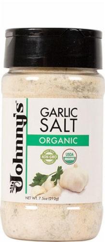 Johnny's Organic Garlic Salt Perspective: front