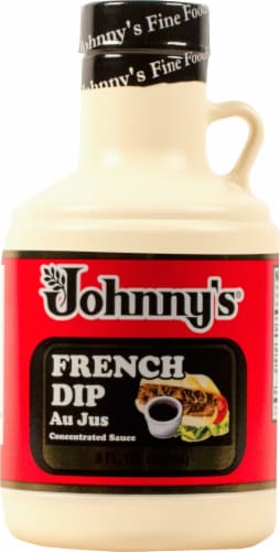 Johnny's French Dip Au Jus Sauce Perspective: front