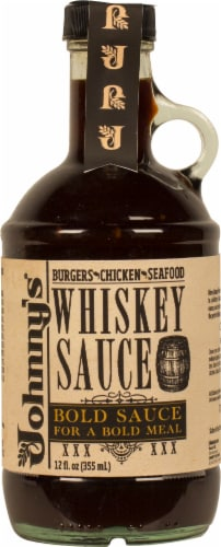 Johnny's Whiskey Sauce Bold Sauce Perspective: front