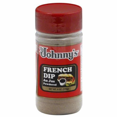 Johnny's French Dip Au Jus Powder Perspective: front