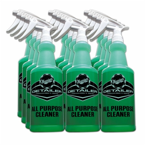 Meguiar's D20101PK12 All Purpose Color Code Label 32 Ounce Cleaner Spray Bottle Perspective: front