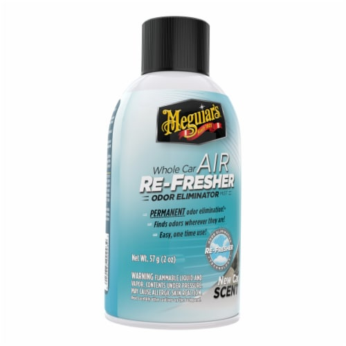 Meguiar's New Car Scent Whole Car Air Re-Fresher Perspective: front