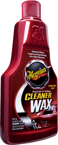 Meguiar's Liquid Cleaner Wax Perspective: front