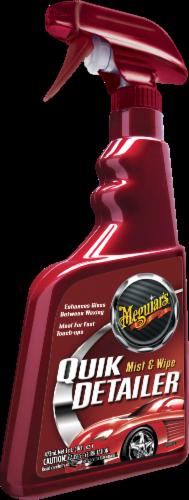 Meguiar's Quik Detailer Mist and Wipe Spray Perspective: front