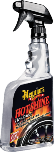 Meguiar's Hot Shine High Gloss Tire Spray Perspective: front