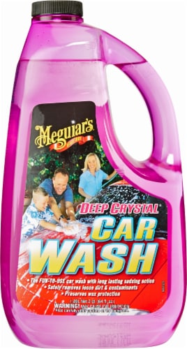 Meguiar's Deep Crystal Car Wash Solution Perspective: front