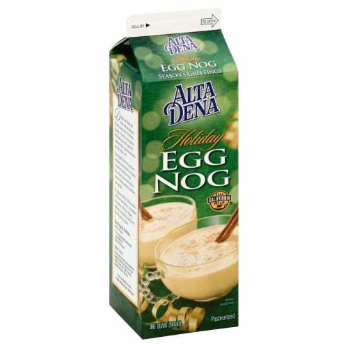 Alta Dena Holiday Egg Nog Perspective: front