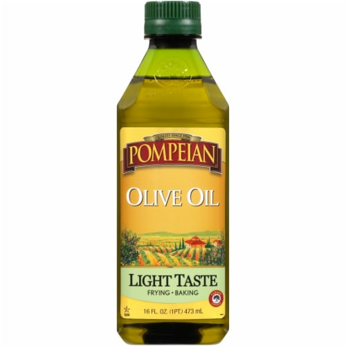 Pompeian® Extra Light Olive Oil Perspective: front