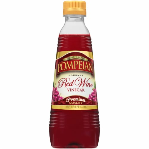 Pompeian Red Wine Vinegar Perspective: front