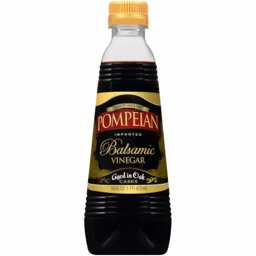 Pompeian Balsamic Vinegar Perspective: front