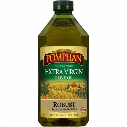 Pompeian® Robust Extra Virgin Olive Oil Perspective: front