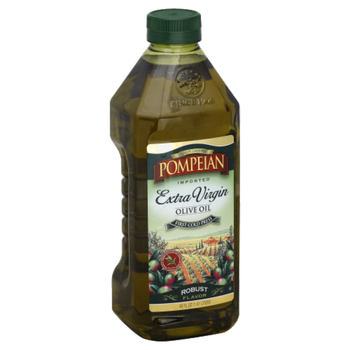 Pompeian Extra Virgin Olive Oil Perspective: front