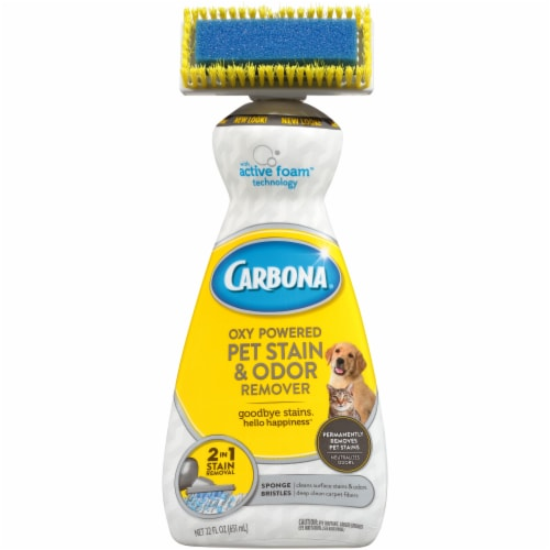 Carbona Oxy Powered Pet Stain & Odor Remover Perspective: front