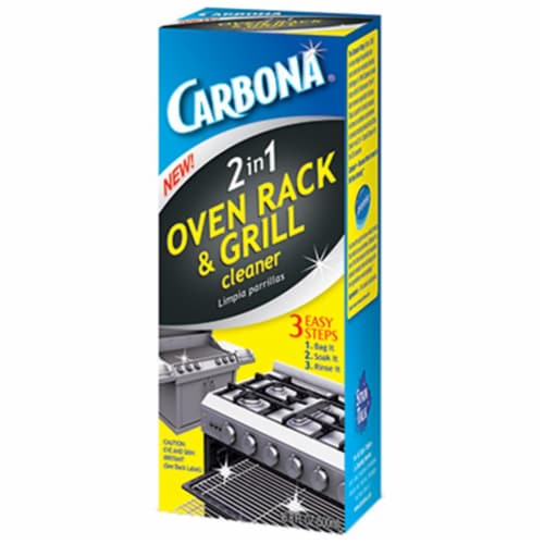 Carbona  No Scent 2-in-1 Oven Rack and Grill Cleaner  16.8 oz. Liquid - Case Of: 1; Perspective: front