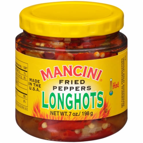 Mancini Longhots Fried Peppers Perspective: front