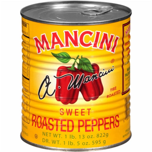 Mancini Sweet Roasted Peppers Perspective: front