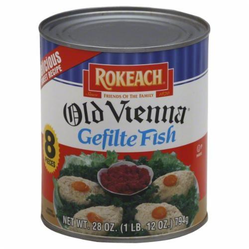 Rokeach Old Vienna Gefilte Fish Perspective: front