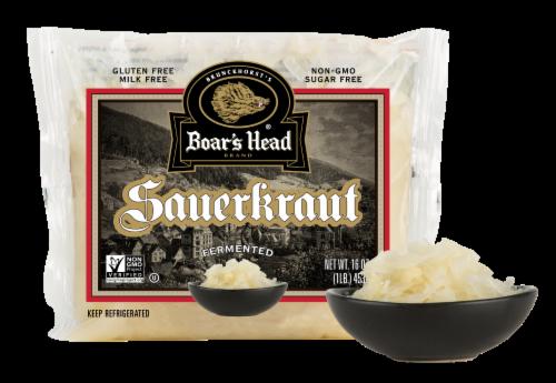 Boar's Head Sauerkraut Perspective: front