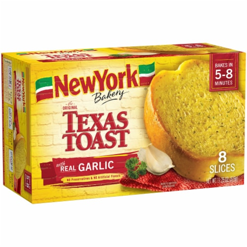New York Bakery Garlic Texas Toast 8 Count Perspective: front