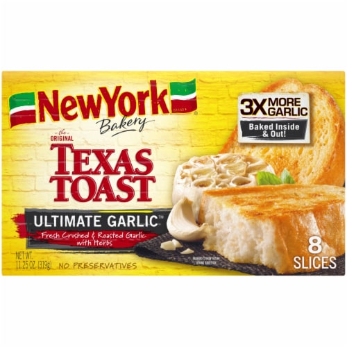 New York Bakery Ultimate Garlic Texas Toast Perspective: front