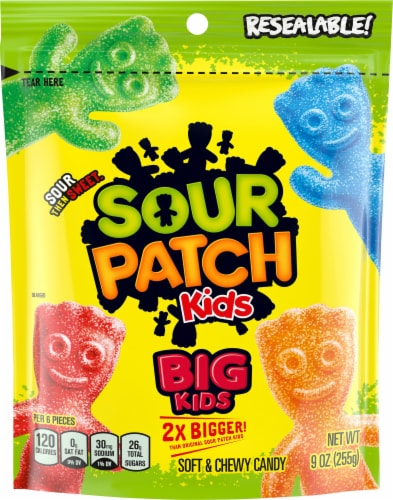 Sour Patch Big Kids Soft & Chewy Candy Perspective: front