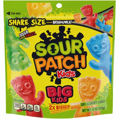 Sour Patch Kids Big Kids Candy Perspective: front