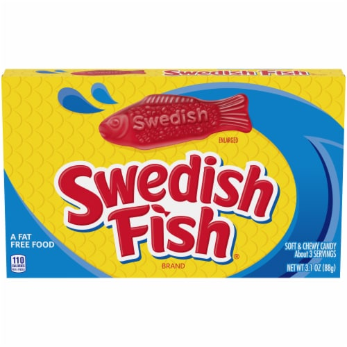 Swedish Fish Soft & Chewy Candy Perspective: front