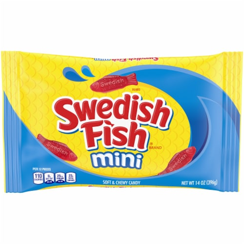 Swedish Fish Mini Soft & Chewy Candy Perspective: front