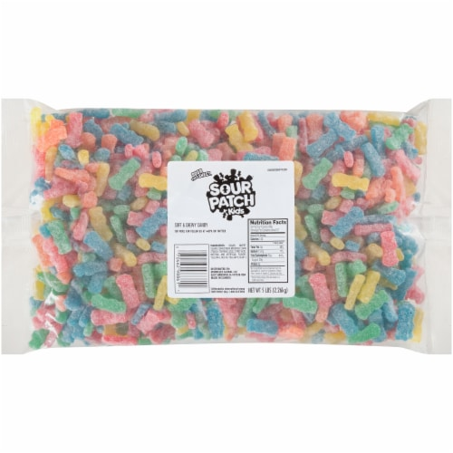 Sour Patch Kids Soft & Chewy Candy Perspective: front