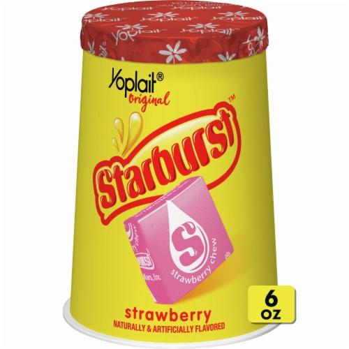 Yoplait Original Starburst Strawberry Flavored Yogurt Perspective: front