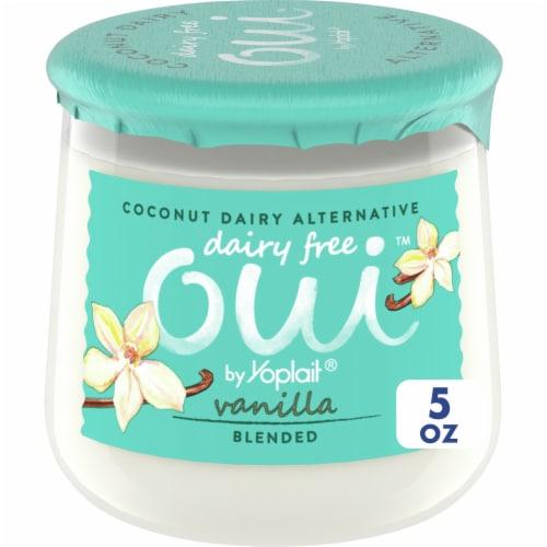 Oui By Yoplait Coconut Dairy Alternative Vanilla Yogurt Perspective: front
