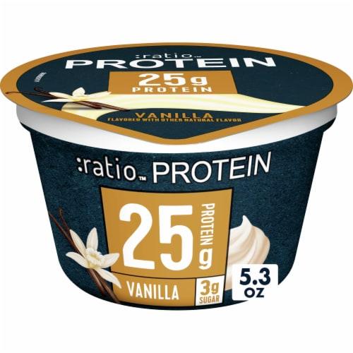 :ratio Protein Vanilla Yogurt Perspective: front