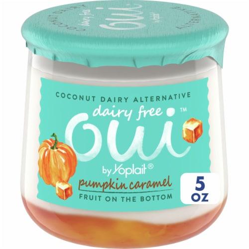 Oui by Yoplait Dairy Free Alternative - Pumpkin Caramel Perspective: front