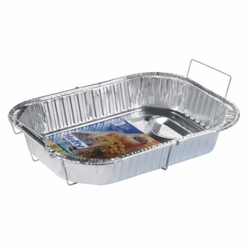 EZ Foil Z01986 Roaster Pan with Handles - pack of 12 Perspective: front