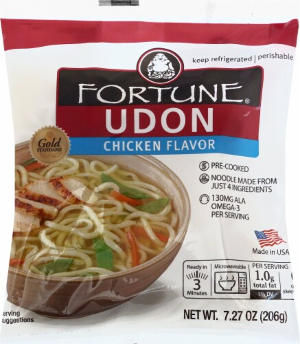 Fortune Udon Chicken Flavor Perspective: front