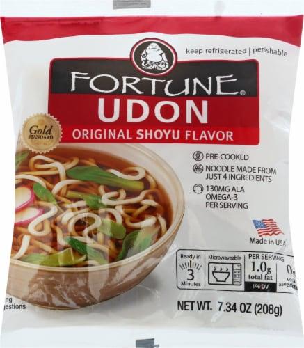 Fortune Udon Original Flavor Noodles Perspective: front
