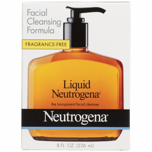 Neutrogena Fragrance-Free Liquid Facial Cleansing Formula Perspective: front